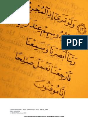 36933757 Quran Hadith Science | Raisin | Saturated Fat