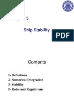 Ship tecnic Sharif university Lecture 5