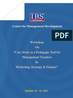 IBS Case Workshop