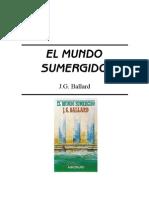 Ballard, J G, El Mundo Sumergido,Ciencia Ficcion