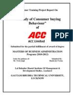 ACC_Consumer Buying Behaviour