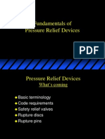 Pressure Relief Devices Scott Ostrowski