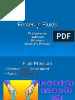 Forces in Fluids
