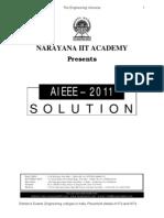 AIEEE_PAPERCODE_2011