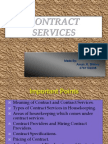 Contract Services