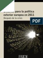 BK Desafios Politica Exterior Europea