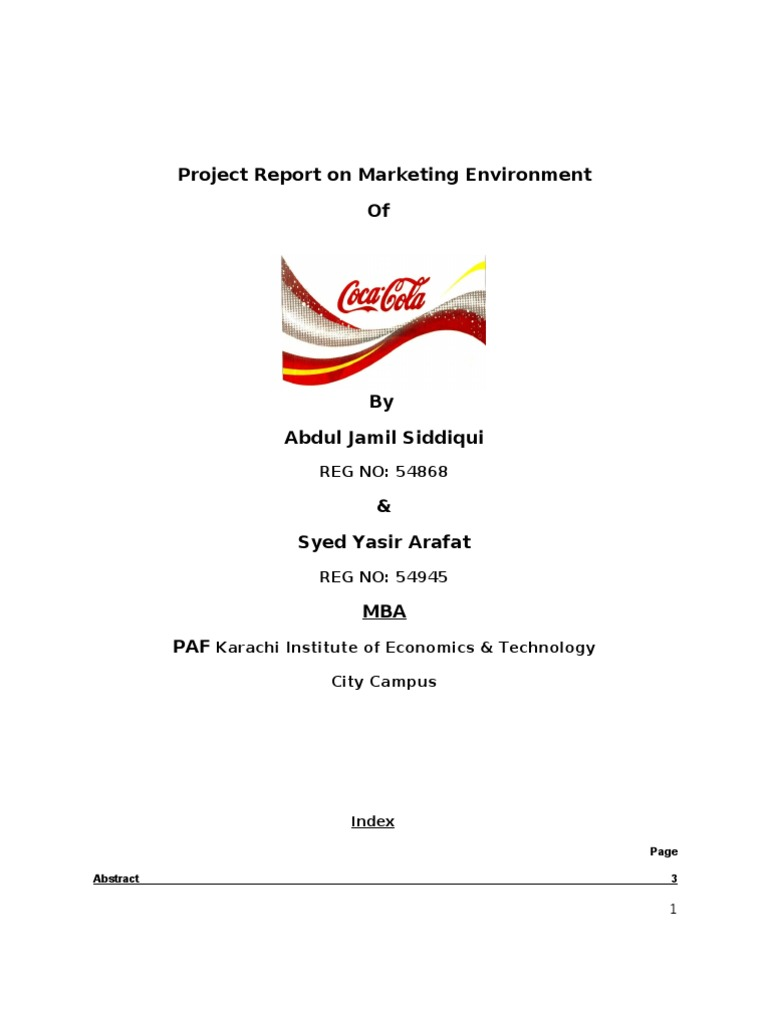 coca cola marketing report We are pleased to introduce the first in a new brandwatch blog series,  in our latest report on the  while coca-cola is more often associated with.