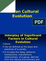 Human Cultural Evolution