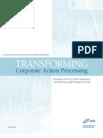 Transforming CA Processing - DTCC