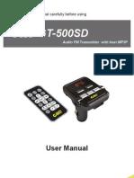 15 GT 500SD User Manual En