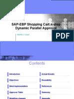 EBP Shopping Cart Approvals