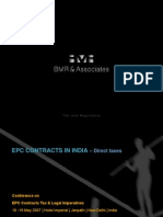 EPC Contracts in India - Direct Tax_11May07