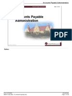 Sap Fi Accounts Payable Administration