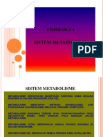 Power Point Fisiologi 1 Metabolisme