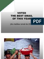 Meilleur Mail de l Annee