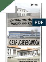 110912 DOC Inicio Curso 2011