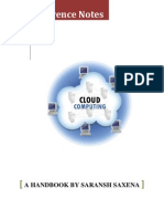 Handbook on Cloud Computing - Saransh Saxena