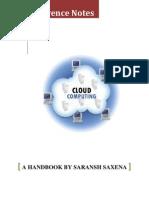 Handbook on Cloud Computing - Saransh Saxena