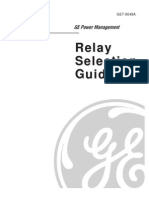 GE Multilin Relay Selection Guide