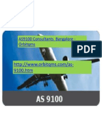 AS9100 Consultants Bangalore