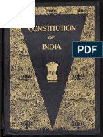 Indian Constitution - Signed Copy