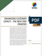 Enhancing Customer Loyalty New CRM Frontier