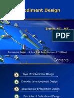 Embodiment Design