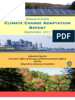 Massachusetts Climate Change Adaptation Report