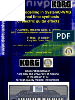 04 - Physical Modelling in SystemC-WMS and Real Time Synthesis of Electric Guitar Effects - Conti