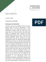 Beruhigung an den Aktienmärkten - Die Marktmeinung aus Stuttgart