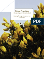 Ethical Principles for Storytelling and Narrative Work HTR 2009