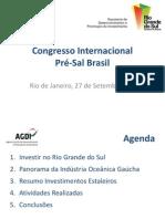Congresso Internacional Pré-Sal Brasil
