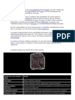 La arenisca o psamita es una roca sedimentaria de tipo detrítico