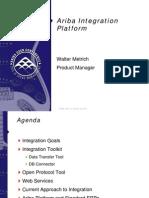 NAUC09.Solution Migration and Data Integration.ariba Integration Platform