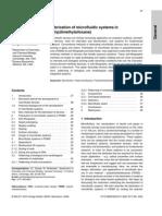 PDMS Electrophoresis 2000
