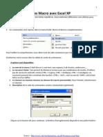 Macros Avec Excel Xp