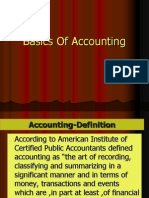 Basics of Accounting 2010-11