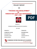 Project Report Coca Cola