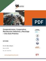 Cooperativismo y Planta de Reciclaje Modelo
