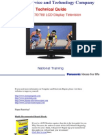Panasonic TC-32LX70_700 LCD TV Training Manual