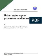 Marsalek_Urban Water Cycle