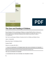 Care and Feeding of Children