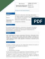 NT14-2010 Opciones de Configuracion Del Firewall de Windows 7