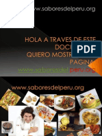 Sabores Del Peru