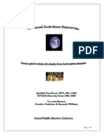 Cultural Nutrition Resources