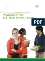 Viewpoints from U.S High School Juniors