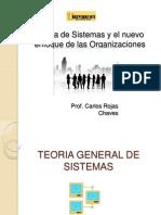 TEORÍA DE SISTEMAS Y EL NUEVO ENFOQUE DE LAS ORGANIZACIONES