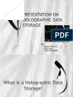 Presentation on Holographic Storage Devices