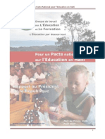 Pacte National Pour Education