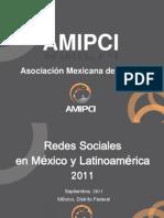 Estudio AMIPCI de Redes Sociales 2011